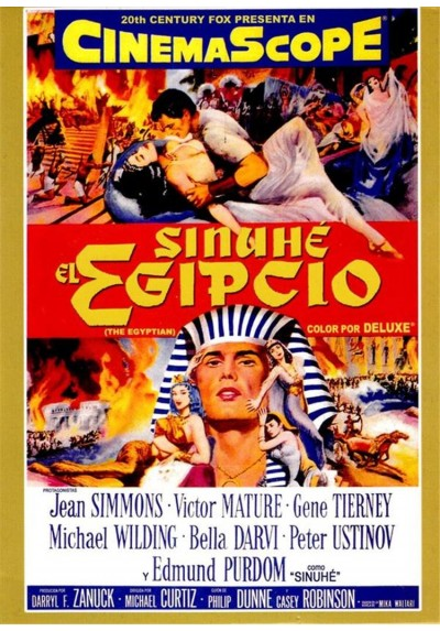 Sinuhe, El Egipcio (The Egyptian)
