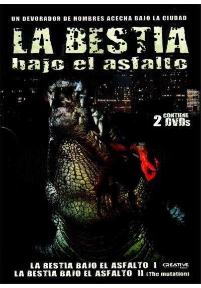 La Bestia Bajo El Asfalto / La Bestia Bajo El Asfalto II (Alligator / Alligator 2 :the Mutation)