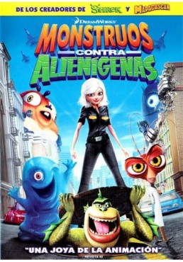 Monstruos Contra Alienigenas (Monsters Vs Aliens)