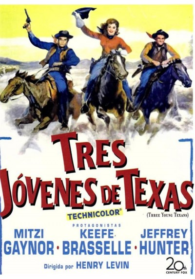 Tres Jovenes De Texas (Three Young Texans)
