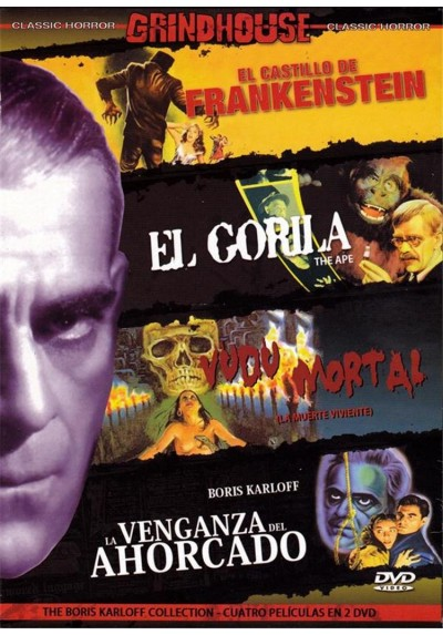 Pack Grindhouse : Boris Karloff Collection