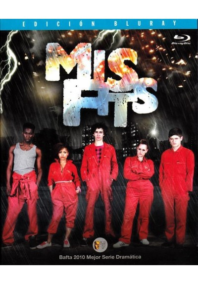Misfits - Primera Temporada (Blu-Ray)