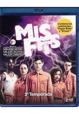 Misfits - Tercera Temporada (Blu-Ray)