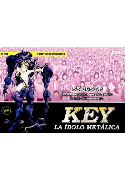 Pack Key: La Idolo Metálica