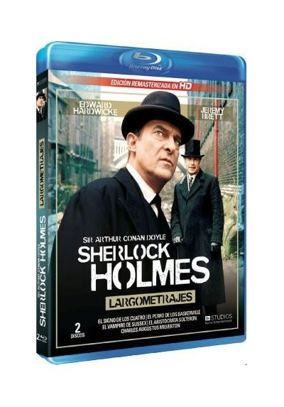 Sherlock Holmes - Largometrajes (Blu-Ray)