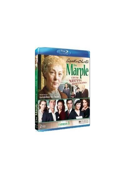 Agatha Christie (Miss Marple) - Cuatro Nuevas Adaptaciones (Temporada 3) (Blu-Ray)
