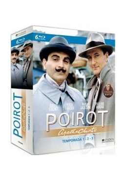 Agatha Christie : Poirot - 1ª, 2ª Y 3ª Temporadas (Blu-Ray) (Pack)