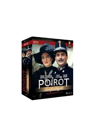 Agatha Christie - Poirot - Temporadas 4,5,6 (Pack) (Blu-Ray)