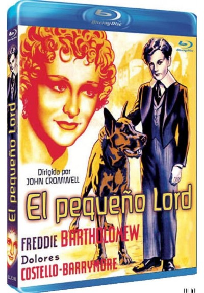 El Pequeño Lord (Blu-Ray) (Little Lord Fauntleroy)