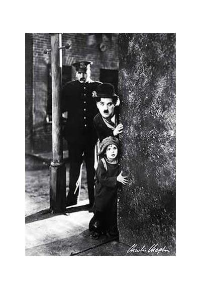 Charles Chaplin, El Chico (POSTER)