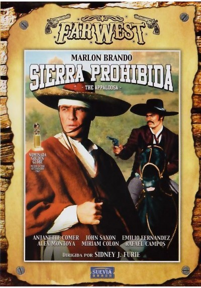 Sierra Prohibida - Coleccion Far West (The Appaloosa)