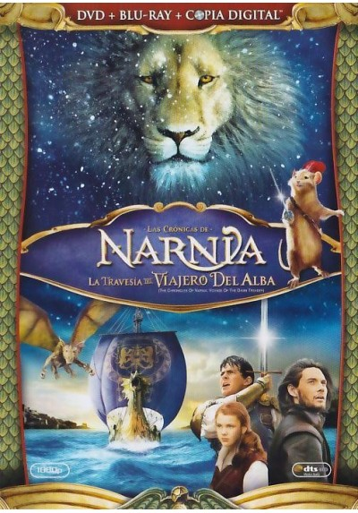 Las Cronicas De Narnia : La Travesia Del Viajero Del Alba (Dvd + Blu-Ray + Copia Digital) (The Chronicles Of Narnia: The Voyage
