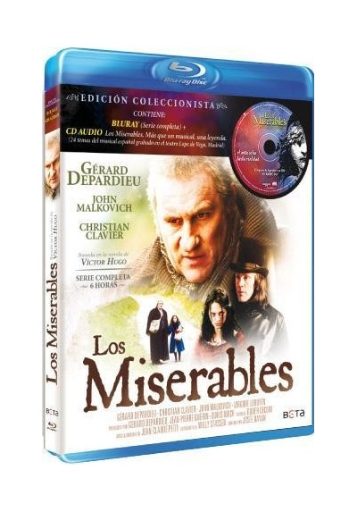 Los Miserables (Blu-Ray + Cd)