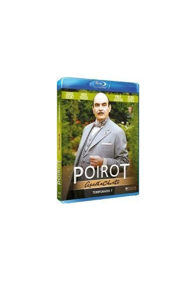 Agatha Christie - Poirot - 7ª Temporada (Blu-Ray)