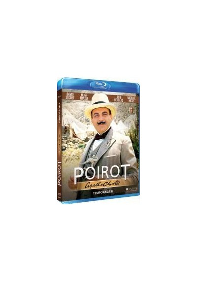 Agatha Christie - Poirot - 8ª Temporada (Blu-Ray)