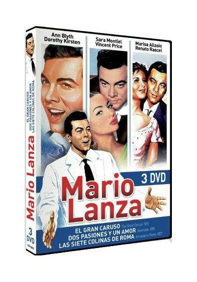 PACK Mario Lanza (DVD-r)