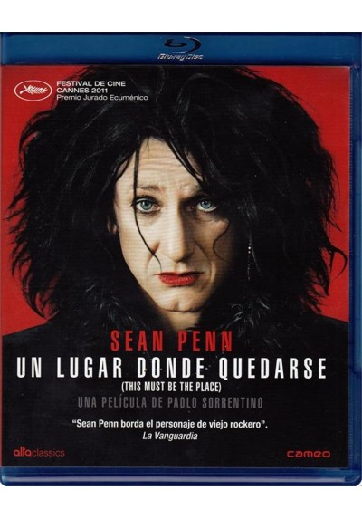Un Lugar Donde Quedarse (Blu-Ray) (This Must Be The Place)