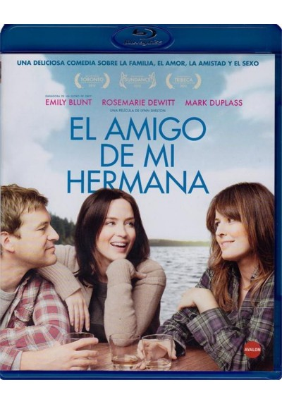 El Amigo De Mi Hermana (Blu-Ray) (Your Sister´s Sister)