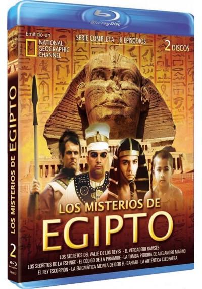 National Geographic : Los Misterios De Egipto - Coleccion Completa (Blu-Ray)