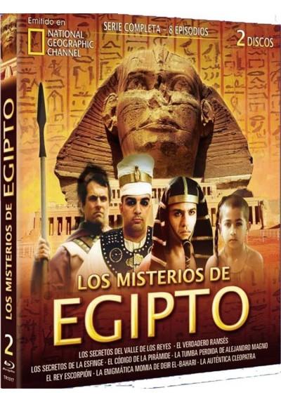 National Geographic : Los Misterios De Egipto - Coleccion Completa