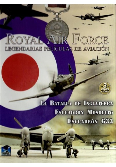 Royal Air Force : Legendarias Peliculas De Aviacion