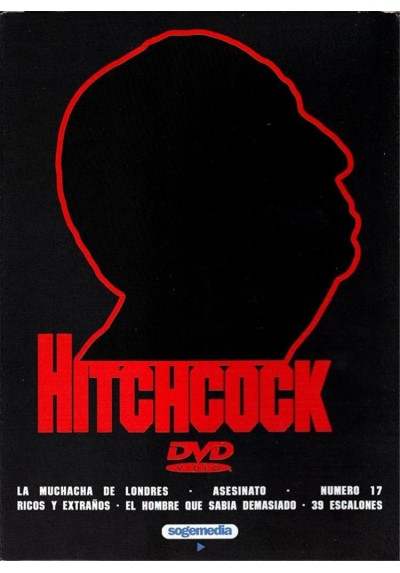 Pack Alfred Hitchcock 1