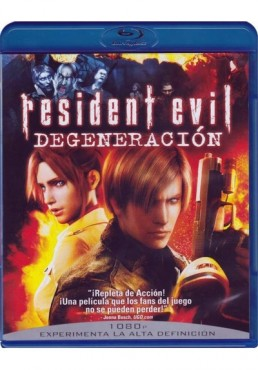 Resident Evil : Degeneracion (Blu-Ray)