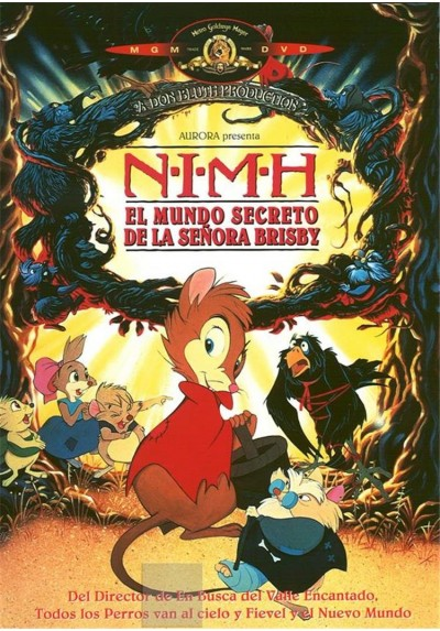 NIMH - El Mundo Secreto de la Señora Brisby