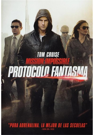 Mision Imposible : Protocolo Fantasma (Mission Impossible: Ghost Protocol)