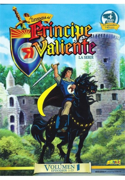La Leyenda Del Principe Valiente : La Serie - Vol. 1