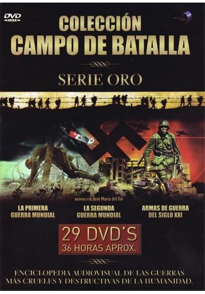 Coleccion Campo De Batalla - Serie Oro (Pack)