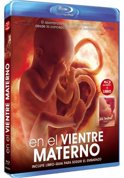 National Geographic : En El Vientre Materno + Libro (Blu-Ray)
