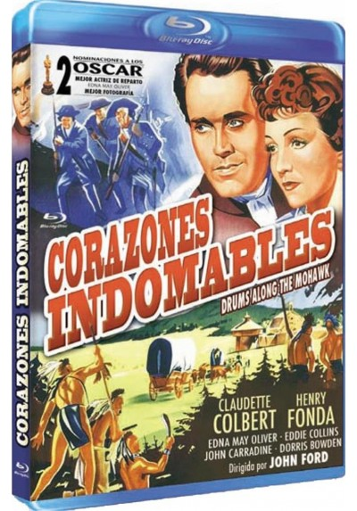 Corazones Indomables (Blu-Ray) (Drums Along The Mohawk)
