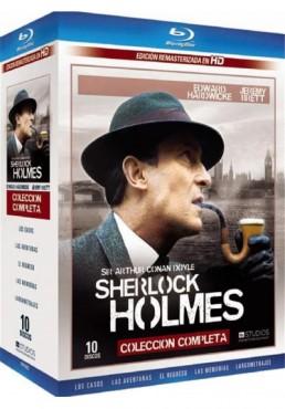 Sherlock Holmes - Coleccion Completa (Blu-Ray)