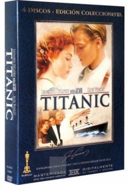 Titanic, Edición Coleccionista, 4 Discos