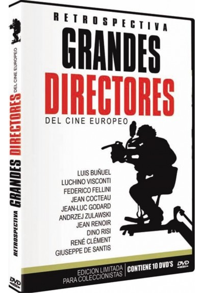 Grandes Directores Del Cine Europeo - Retrospectiva