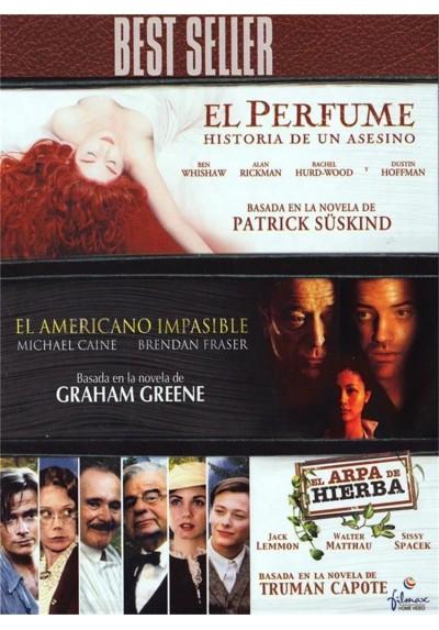 El Perfume : Historia De Un Asesinato / El Americano Impasible / El Arpa De Hierba (Pack)