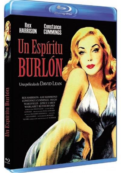 Un Espiritu Burlon (Blu-Ray) (Blithe Spirit)
