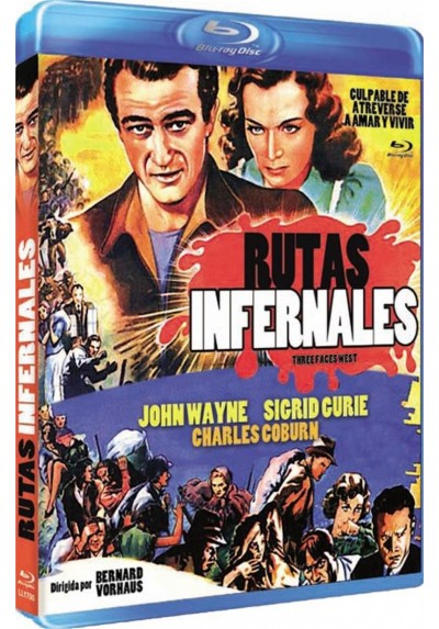 Rutas Infernales (Blu-Ray) (Three Faces West)