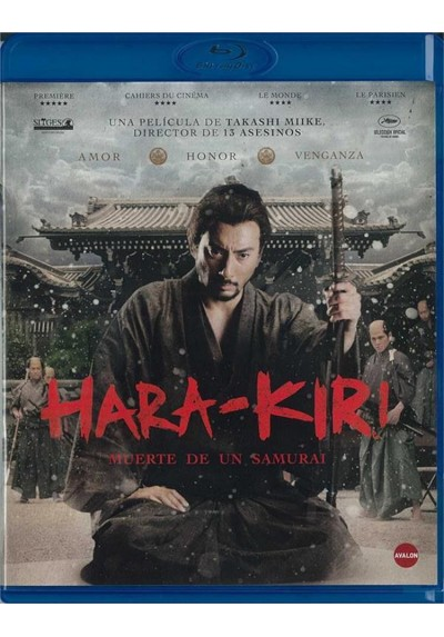 Hara-Kiri : Muerte De Un Samurai (Blu-Ray)