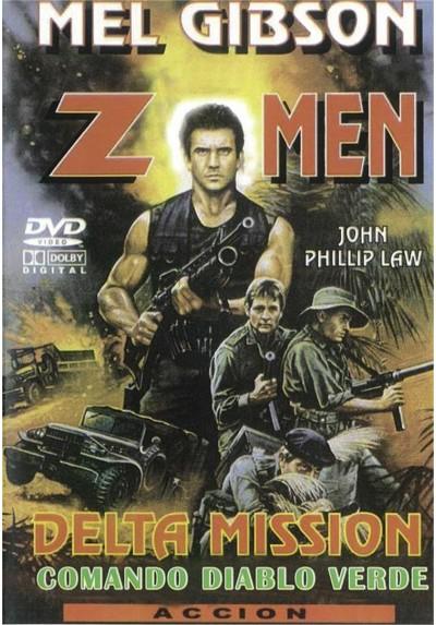 Z - Men - Delta Mission - Comando Diablo Verde