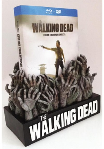 The Walking Dead - 3ª Temporada (Blu-Ray + Dvd + Figura Exclusiva)