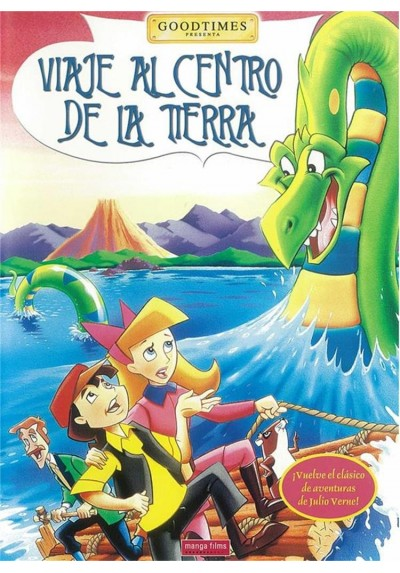 Viaje Al Centro De La Tierra (Animación) (Manga) (Journey To The Center Of The Earth)