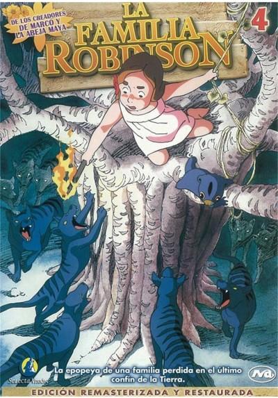 La Familia Robinson - Vol. 4 (Kazoku Robinson Hyôryûki Fushigina Shima No Fûrone)