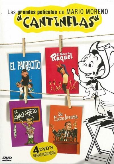 """Las Grandes Películas De Mario Moreno """"Cantinflas"""""""