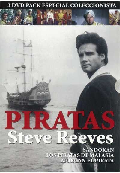 Piratas - Steve Reeves (Pack)
