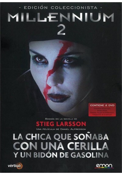 Millennium 2 : La Chica Que Soñaba Con Una Cerilla Y Un Bidon De Gasolina (Ed. Coleccionista)