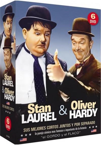 Stan Laurel & Oliver Hardy - Sus Mejores Cortos Juntos Y Por Separado (Pack)