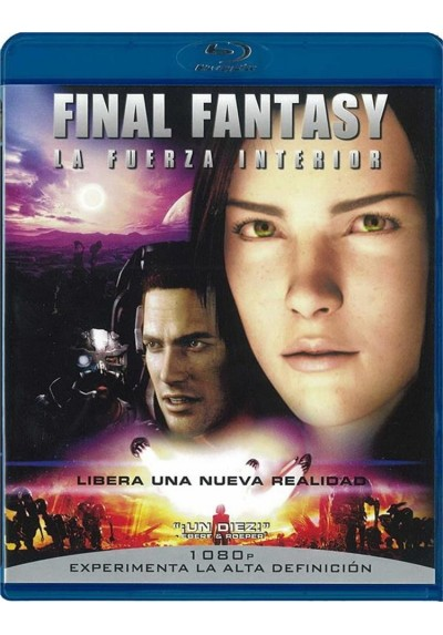 Final Fantasy : La Fuerza Interior (Blu-Ray)