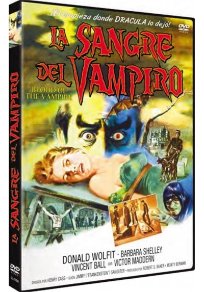 La Sangre Del Vampiro (Blood Of The Vampire)